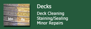 Decks and Deck Cleaning