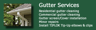 gutter services and cleaning